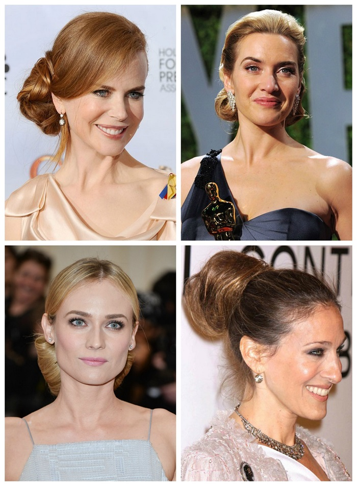 Celebrity Inspired Wedding Hairstyle