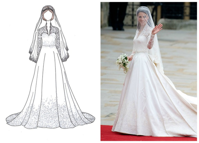 20 Unforgettable Wedding Dresses and the Celebrities that wore Them